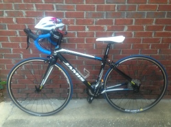 My Jamis road bike